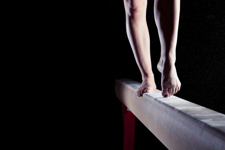 Gymnast beam