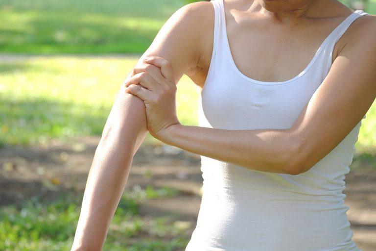womans arm
