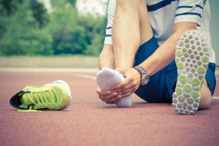 runners painful foot