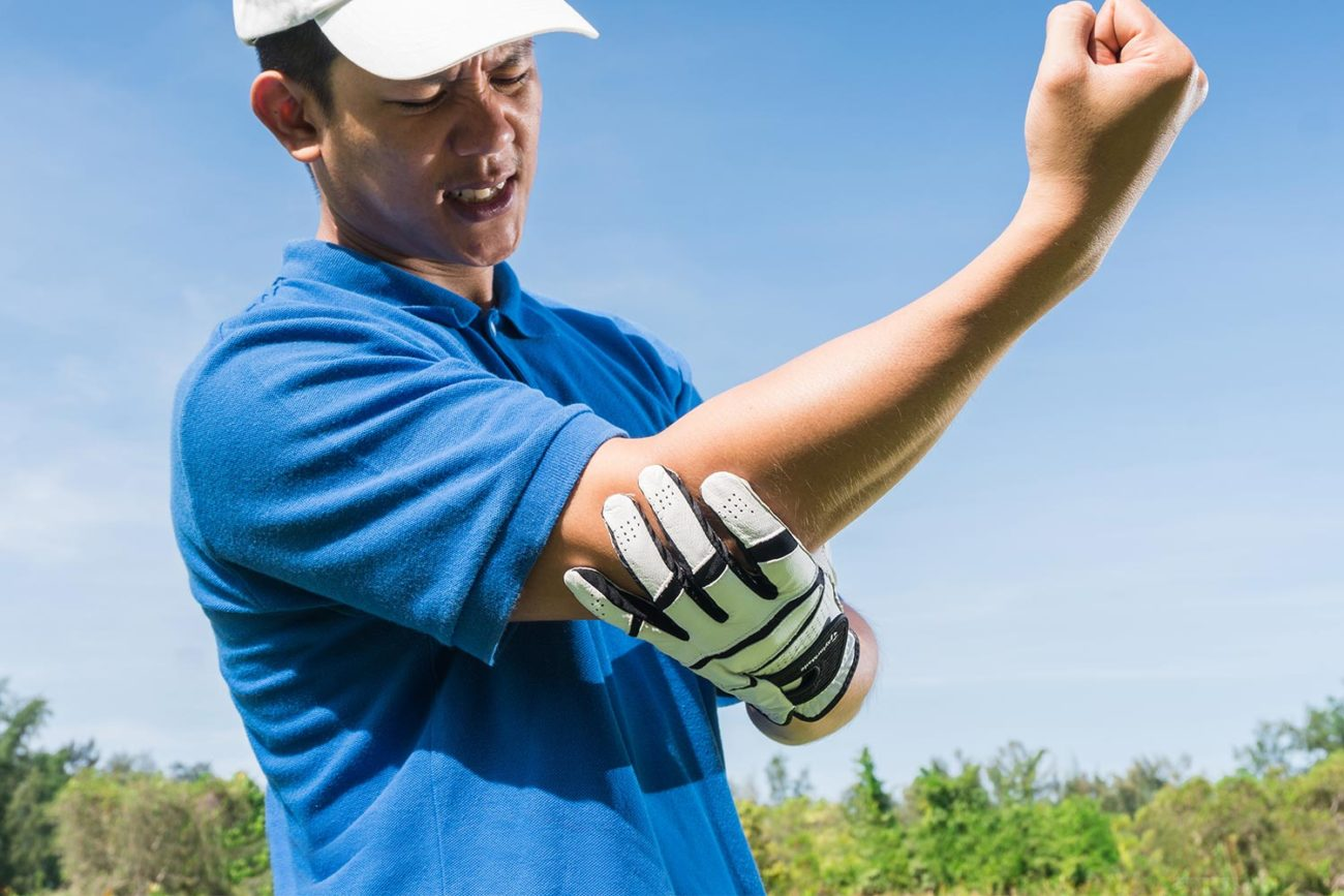 Golfer elbow
