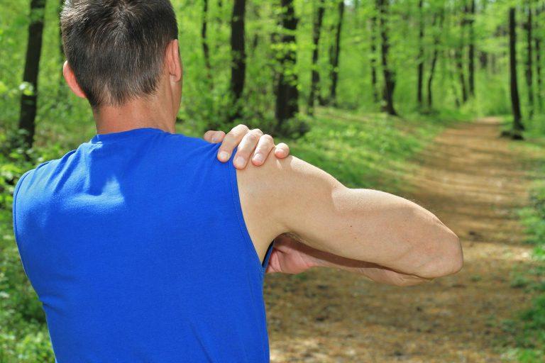 Running shoulder injury