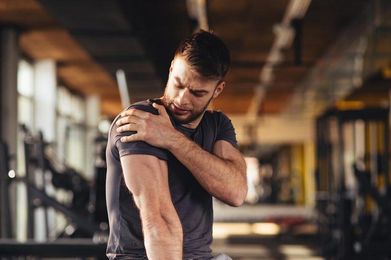 Sports shoulder injury treatment