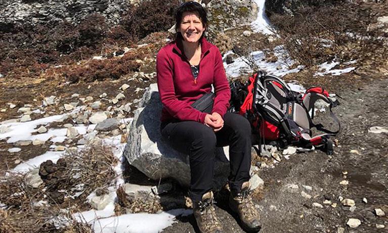 Jackie in Nepal