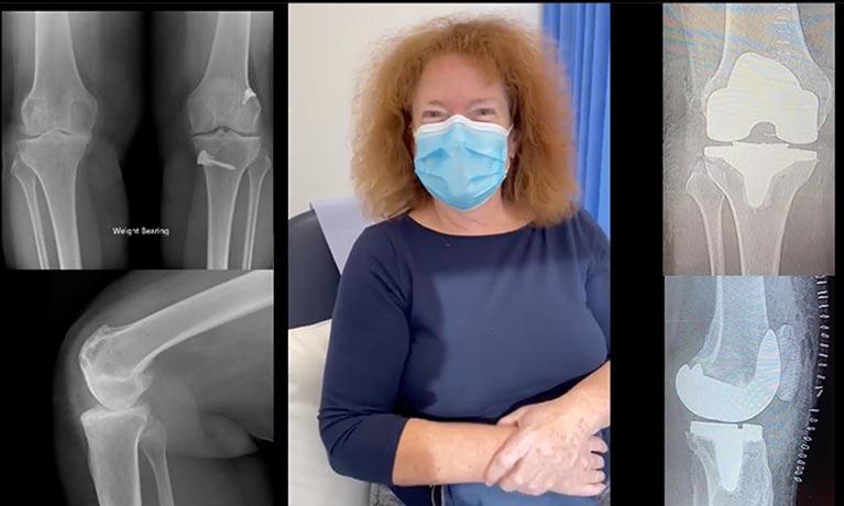 Jane in hospital