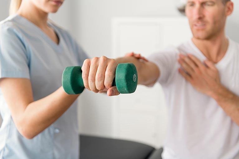 Healing sports injuries