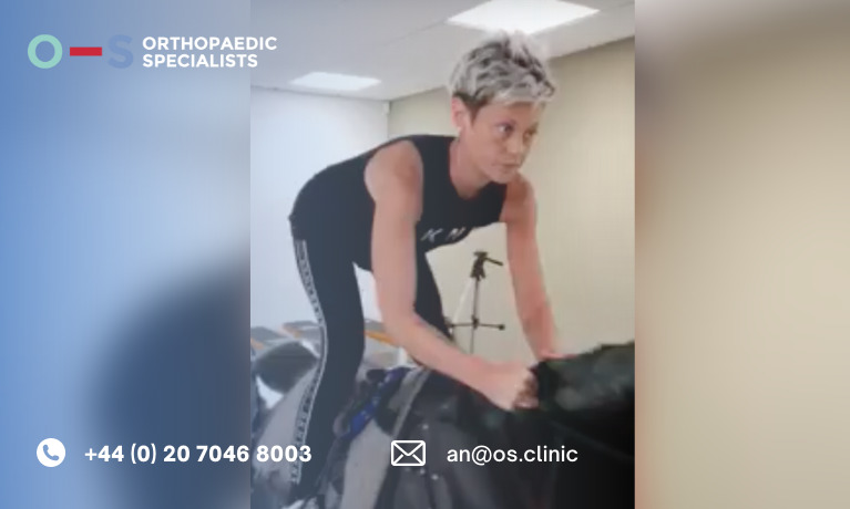 Laura - professional horse riding within 6 months after surgery